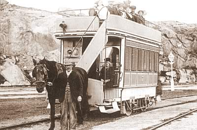 The First Island Tram - No. 7