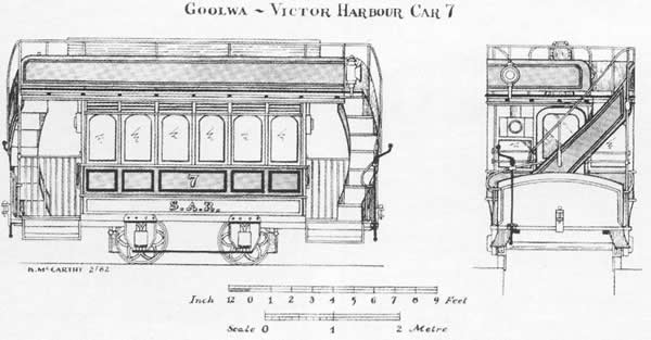 The Trams drawing of No. 7.